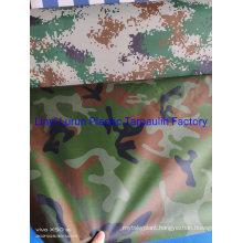 High Quality Heavy-Duty Camouflage Tarpaulin Shelter