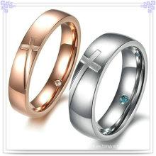 Anillos de amante de la moda anillo de dedo de la joyería del acero inoxidable (SR570)