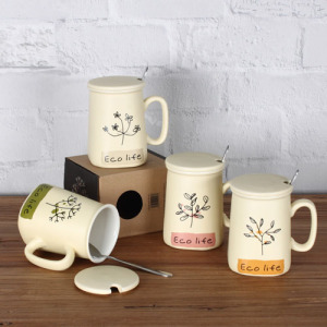 Eco life coffe mug
