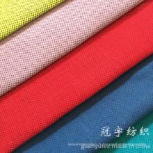 Polyester et tissu en nylon de velours côtelé de sofa de textile à la maison