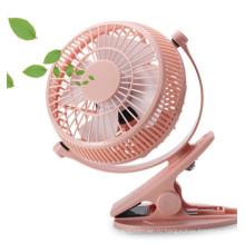 2 уровня скорости ветра вентилятор USB miniCharging с зажимом -оранжевый