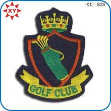Angepasste Golf 100% Hand Stickerei Abzeichen