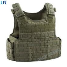 Veste leve de armadura leve da veste à prova de balas tática de Molle para forças armadas e segurança