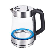Glass Electric Kettle, 1.8L Jug, Stainless Steel Top & Base Housing, Power 1800-2200W, Cord StorageNew