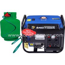 Générateur de gaz naturel portable de 2,5kVA à usage domestique