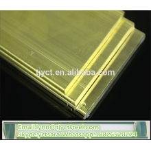 best selling H62 brass plate mill price for yellow brass sheet factory prices