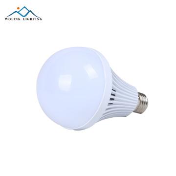 O bulbo recarregável da emergência de alumínio alta do PC do lúmen e27 5w 7w 9w 12w conduziu a lâmpada