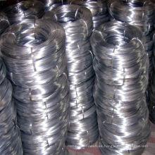 Alambre galvanizado caliente del hierro BWG8-BWG22 Anping fábrica