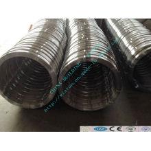 Alambre oval de acero galvanizado en caliente de acero con alto contenido de carbono # 45