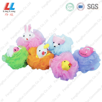 Swanky animal small sponge bath ball
