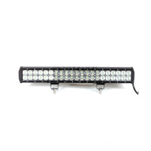 126W Flood Beam 4D Lens LED Light Bar For ATV Off Road SUV Truck