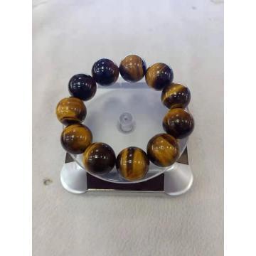 semi precious yellow tiger eye bracelet