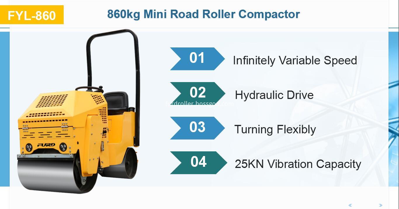 Baby Roller Compactors Machine