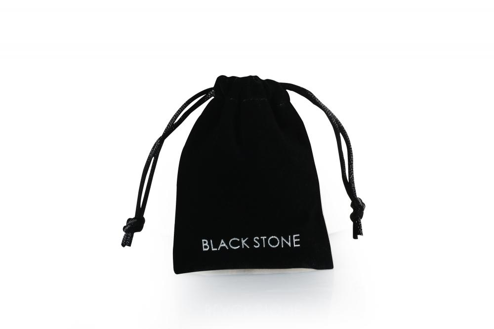 Small velvet drawstring gift bag with custom logo