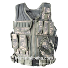 NIJ level 3A tactical bulletproof vest military camouflage ballistic body armor