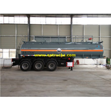 20T 18CBM Sulfure Acid Trailer Tanks