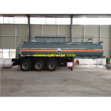 20T 18CBM Sulfuric Acid Trailer Tanks