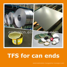 Tin free steel sheet for beverage can bottom