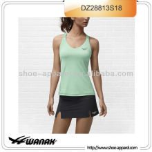 Wholesale cheap cross back tennis wear for women