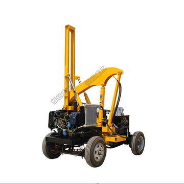 Light Samll Wheel Type Highway Pile Driver