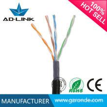 Precio barato cc ccs utp / ftp / sftp al aire libre cat5 cable lan