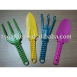 plastic mini garden tool set