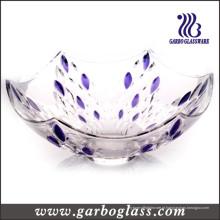 Tigela de vidro da gota de chuva (GB1620YM / P)