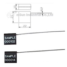 adjustable pull tight cable seal C-106B