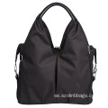 Senaste Design Black Nylon Stroller Diaper Bag