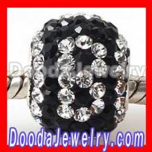 Swarovski Crystal Beads Alphabet Letter Jewelry Charms For Bracelets