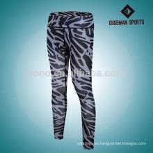 Pantalones de yoga cómodos respirables coloridos leggings de yoga de la aptitud de las mujeres