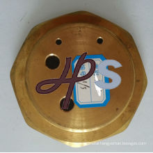 brass flange for heating system