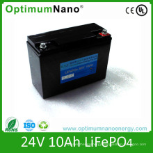 Intellectual Robots 24V 10ah LiFePO4 Battery Factory