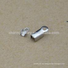 BXG035 Qualitätsgroßverkauf preiswerter Edelstahlschnurendclip Schmucksache-Entdeckungen u. Bestandteile