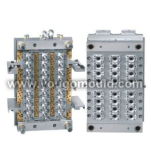 PET Preform mould (hot-runner valve gate)