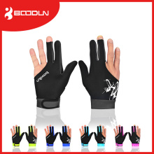 Smooth Lycra 3 Fingers Billiard Glove for Snooker