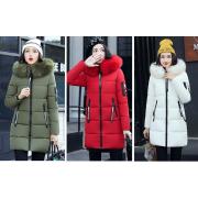 Hood Parka Overcoat Long Jacket