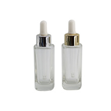 Wholesale dropper bottle 30ml glass square dropper bottles/ essence oil  bottles LOreal bottle with good price