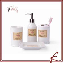 Acessórios especiais de porcelana para casa de banho
