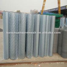 Caliente zinc-chapado de metal expandido rojo / protección valla / construcción en la carretera con un precio razonable en la tienda (fabricante)