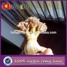 Extensión virginal brasileña del pelo