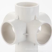 Moulage par injection en plastique de raccord de tuyau en PVC à canaux chauds