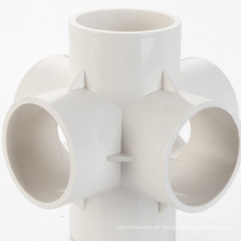 Molde de injeção de plástico de encaixe de tubo de PVC de câmara quente