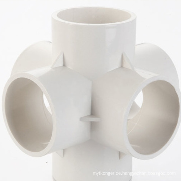 Heißkanal-PVC-Rohrverschraubung Kunststoffspritzguss
