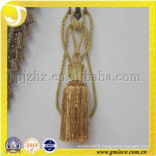 curtain magnet tieback tassel stock