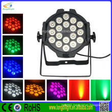 Hot!!!colorful led stage 18x10w rgbw 4 in 1 led par can