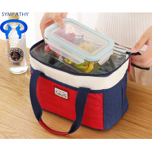 Convenient portable package lunch box cooler bag