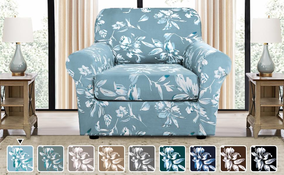 Printed Fleece Sofa Cover