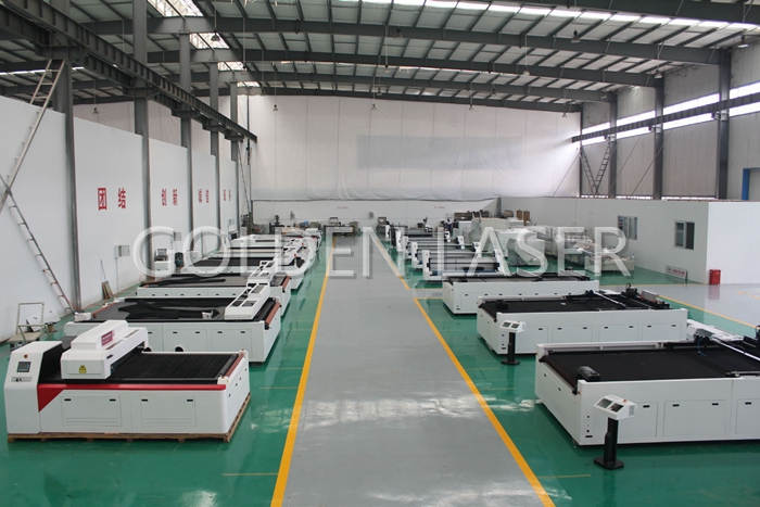 fabric laser cutting machine golden laser