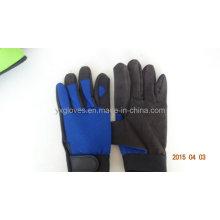 Guante de trabajo - Guante de trabajo - Guante de seguridad - Guante de guante de cuero sintético